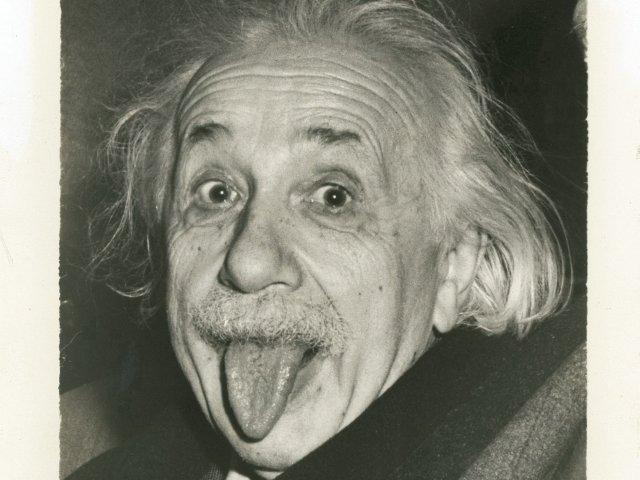 Einstein. Tongue.