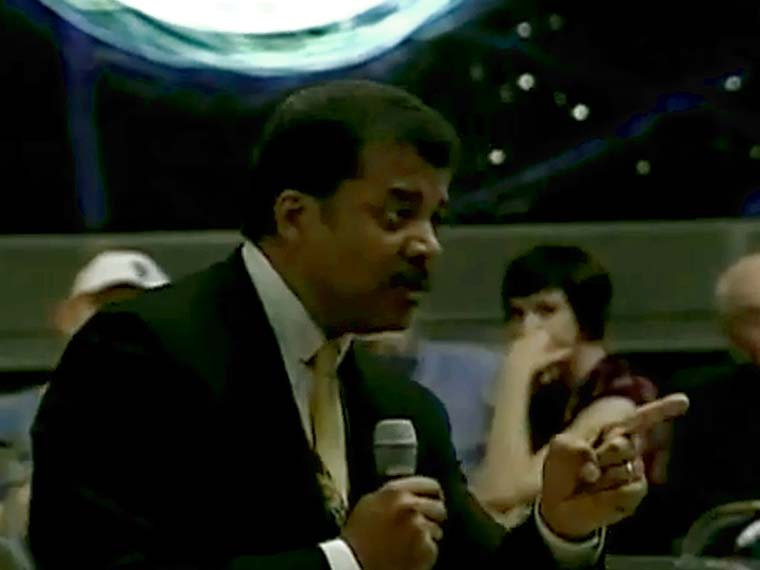 Neil deGrasse Tyson – SciCafe: Life the Universe and Everything