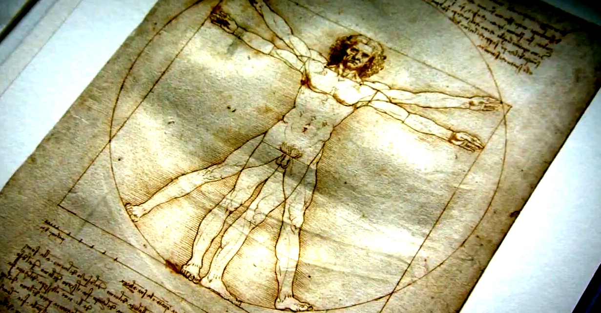 The Beauty of Diagrams – Vitruvian Man
